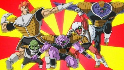La Ginyu Force de Dragon Ball Z