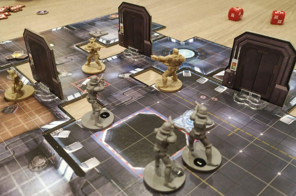Les terminaux détruit, direction la sortie avec 3 Stormtroopers comme seule opposition